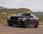 2020 BMW X6 M Competition (Color: Ametrine Metallic; US-Spec) Front Three-Quarter Wallpapers 150x120 (11)