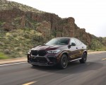 2020 BMW X6 M Competition (Color: Ametrine Metallic; US-Spec) Front Three-Quarter Wallpapers 150x120 (4)