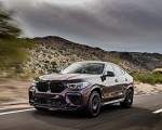 2020 BMW X6 M Competition (Color: Ametrine Metallic; US-Spec) Front Three-Quarter Wallpapers 150x120 (41)