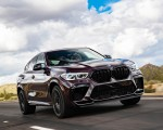 2020 BMW X6 M Competition (Color: Ametrine Metallic; US-Spec) Front Three-Quarter Wallpapers 150x120 (29)