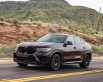 2020 BMW X6 M Competition (Color: Ametrine Metallic; US-Spec) Front Three-Quarter Wallpapers 150x120 (12)