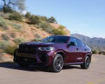 2020 BMW X6 M Competition (Color: Ametrine Metallic; US-Spec) Front Three-Quarter Wallpapers 150x120 (5)