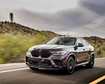 2020 BMW X6 M Competition (Color: Ametrine Metallic; US-Spec) Front Three-Quarter Wallpapers 150x120 (42)