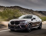 2020 BMW X6 M Competition (Color: Ametrine Metallic; US-Spec) Front Three-Quarter Wallpapers 150x120 (43)