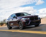 2020 BMW X6 M Competition (Color: Ametrine Metallic; US-Spec) Front Three-Quarter Wallpapers 150x120 (30)