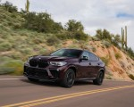 2020 BMW X6 M Competition (Color: Ametrine Metallic; US-Spec) Front Three-Quarter Wallpapers 150x120 (14)