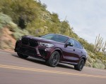 2020 BMW X6 M Competition (Color: Ametrine Metallic; US-Spec) Front Three-Quarter Wallpapers 150x120 (7)