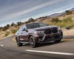 2020 BMW X6 M Competition (Color: Ametrine Metallic; US-Spec) Front Three-Quarter Wallpapers 150x120 (44)