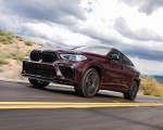 2020 BMW X6 M Competition (Color: Ametrine Metallic; US-Spec) Front Three-Quarter Wallpapers 150x120 (25)