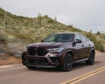 2020 BMW X6 M Competition (Color: Ametrine Metallic; US-Spec) Front Three-Quarter Wallpapers 150x120 (8)