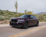 2020 BMW X6 M Competition (Color: Ametrine Metallic; US-Spec) Front Three-Quarter Wallpapers 150x120 (9)