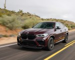 2020 BMW X6 M Competition (Color: Ametrine Metallic; US-Spec) Front Three-Quarter Wallpapers 150x120 (19)