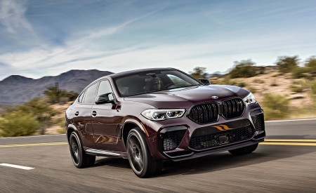 2020 BMW X6 M Competition (US-Spec) Wallpapers HD