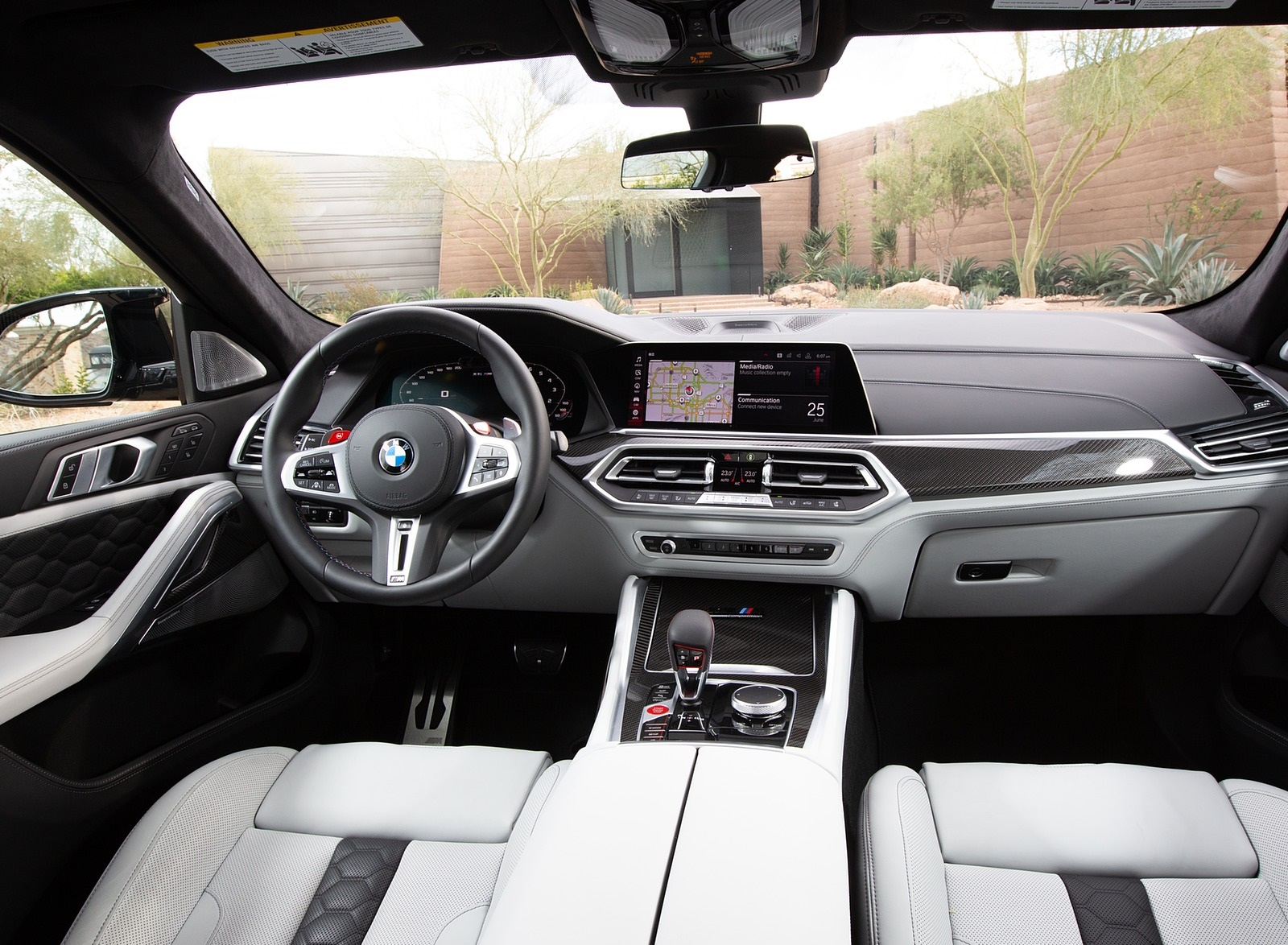 2020 Bmw X6 M Competition Color Ametrine Metallic Us Spec Interior Wallpapers 127 Newcarcars