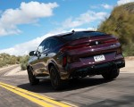 2020 BMW X6 M Competition (Color: Ametrine Metallic; US-Spec) Rear Three-Quarter Wallpapers 150x120 (35)