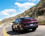 2020 BMW X6 M Competition (Color: Ametrine Metallic; US-Spec) Rear Three-Quarter Wallpapers 150x120 (36)