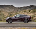 2020 BMW X6 M Competition (Color: Ametrine Metallic; US-Spec) Side Wallpapers 150x120 (50)