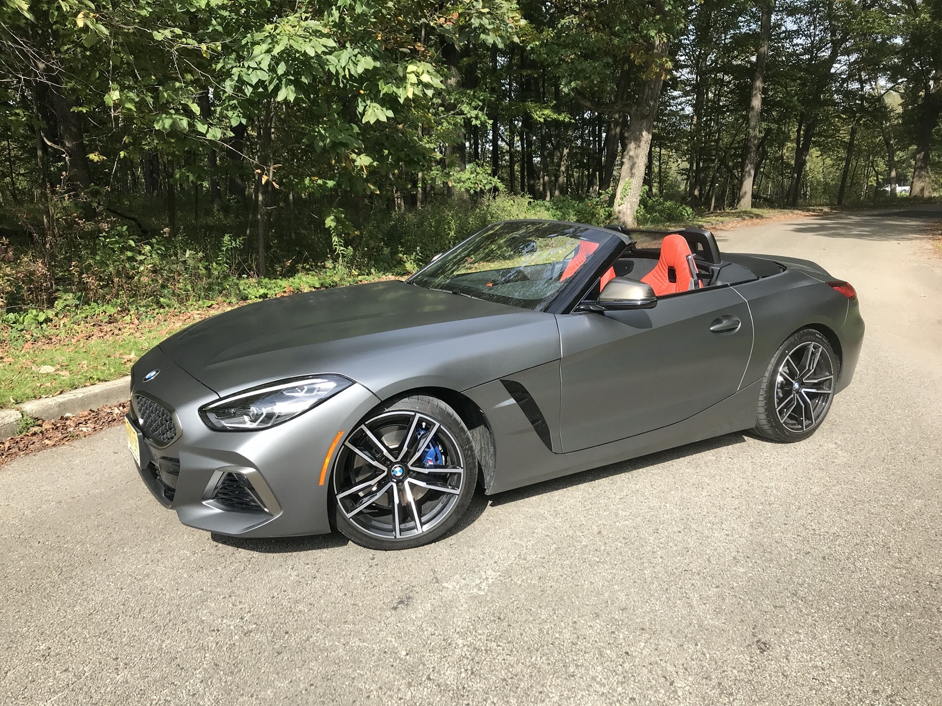 2020 BMW Z4 Roadster Spy Shoot