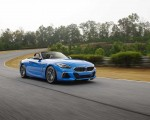 2020 BMW Z4 M40i Roadster (Color: Misano Blue Metallic) Front Three-Quarter Wallpapers 150x120 (5)