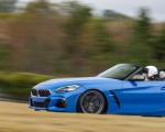 2020 BMW Z4 M40i Roadster (Color: Misano Blue Metallic) Side Wallpapers 150x120 (24)