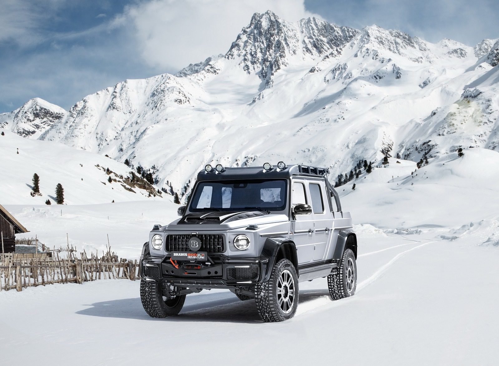 2020 BRABUS 800 Adventure XLP based on Mercedes-AMG G 63 Front Three-Quarter Wallpapers (2)