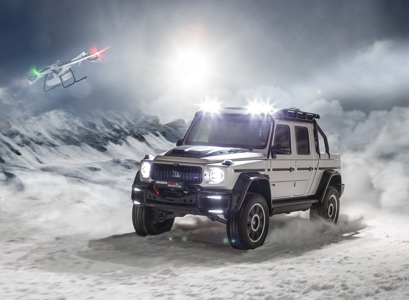 2020 BRABUS 800 Adventure XLP based on Mercedes-AMG G 63 Front Three-Quarter Wallpapers (1)