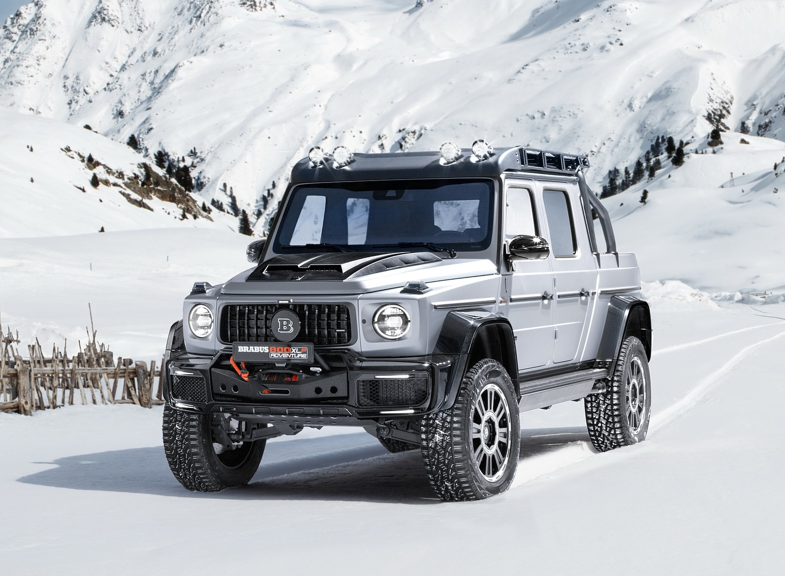2020 BRABUS 800 Adventure XLP based on Mercedes-AMG G 63 Front Three-Quarter Wallpapers (3)