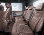 2020 BRABUS 800 Adventure XLP based on Mercedes-AMG G 63 Interior Rear Seats Wallpapers 150x120 (20)
