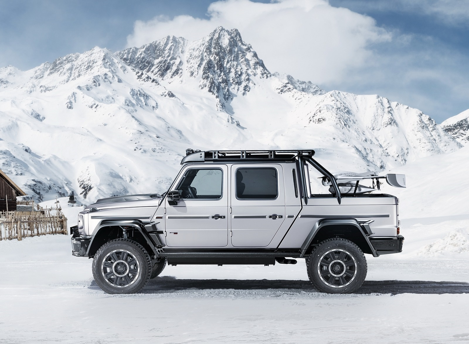 2020 BRABUS 800 Adventure XLP based on Mercedes-AMG G 63 Side Wallpapers (5)