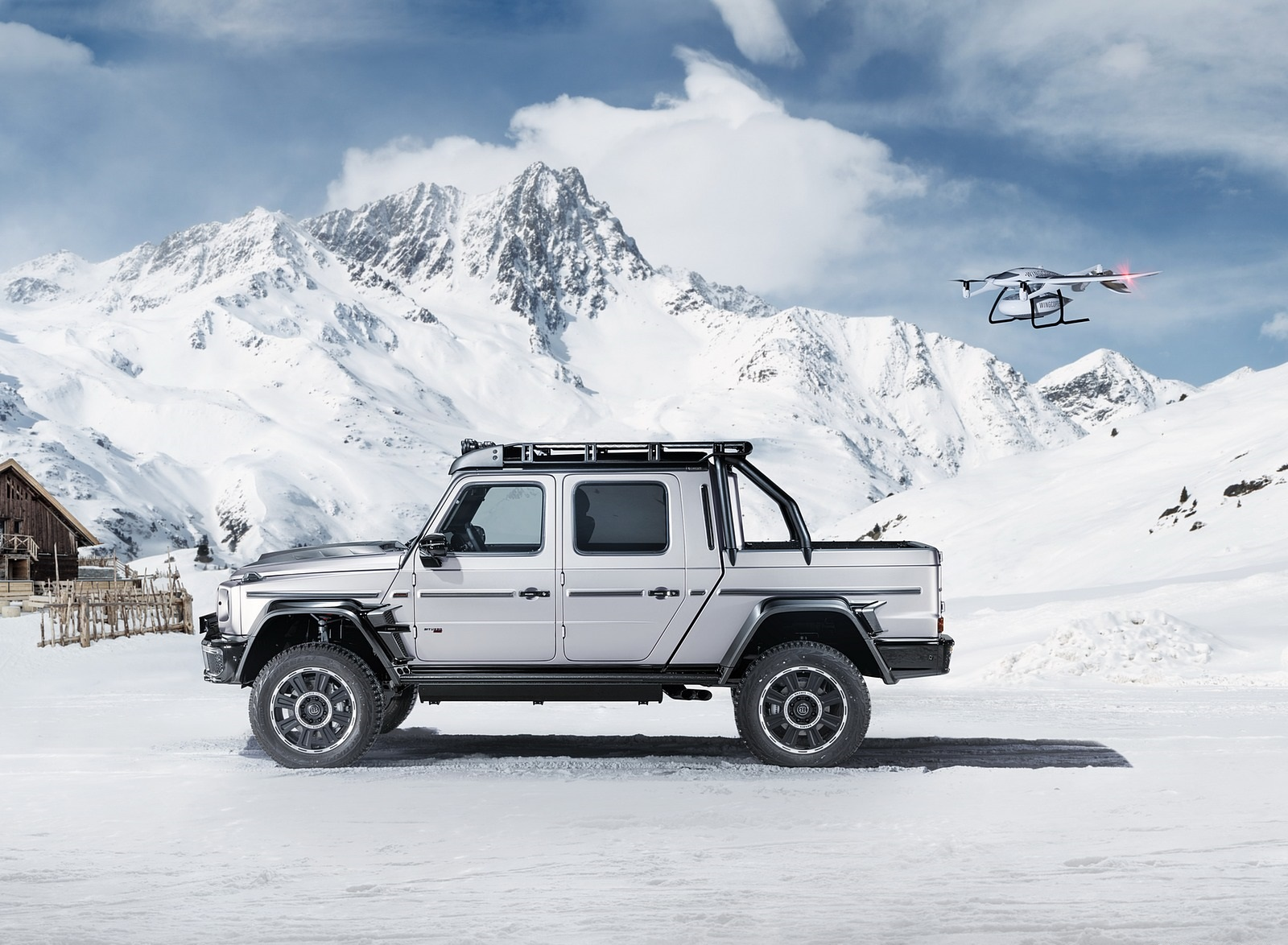 2020 BRABUS 800 Adventure XLP based on Mercedes-AMG G 63 Side Wallpapers (6)