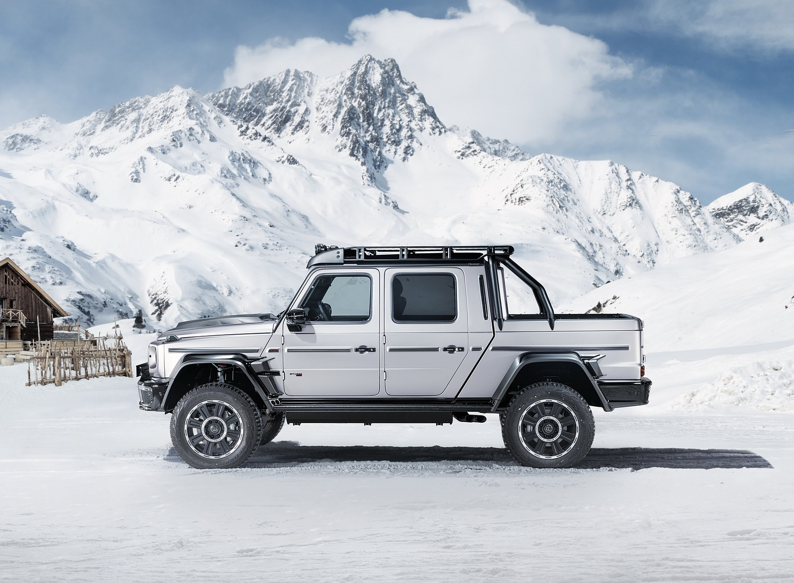 2020 BRABUS 800 Adventure XLP based on Mercedes-AMG G 63 Side Wallpapers (7)