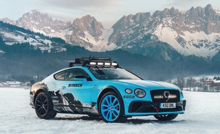 2020 Bentley Continental GT GP Ice Race Wallpapers HD