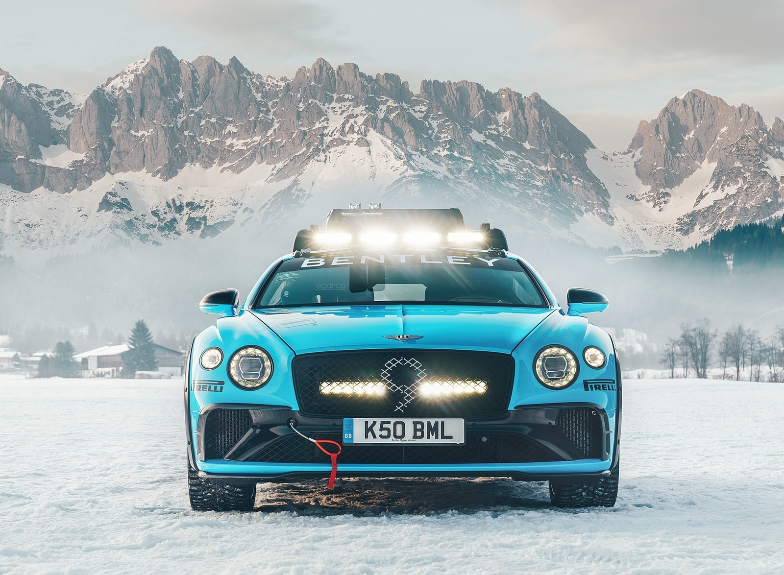 2020 Bentley Continental GT GP Ice Race Front Wallpapers (3)