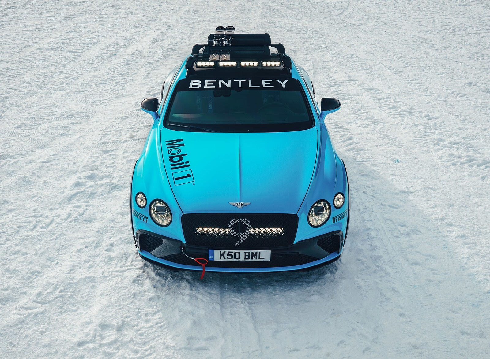 2020 Bentley Continental GT GP Ice Race Top Wallpapers (2)