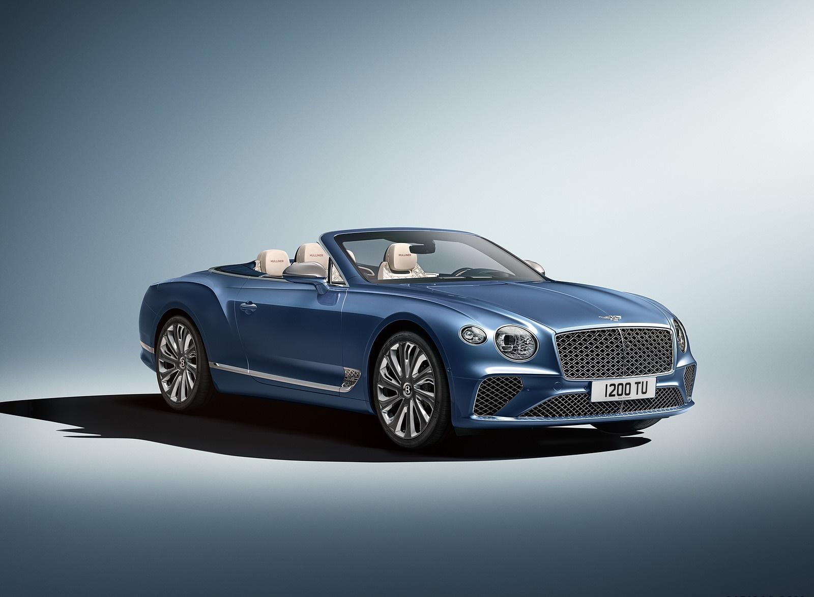 2020 Bentley Continental GT Mulliner Convertible Front Three-Quarter Wallpapers (1)