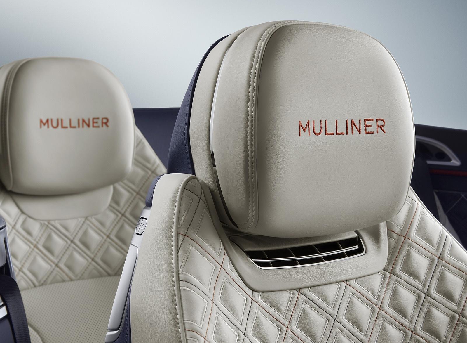 2020 Bentley Continental GT Mulliner Convertible Interior Seats Wallpapers (6)
