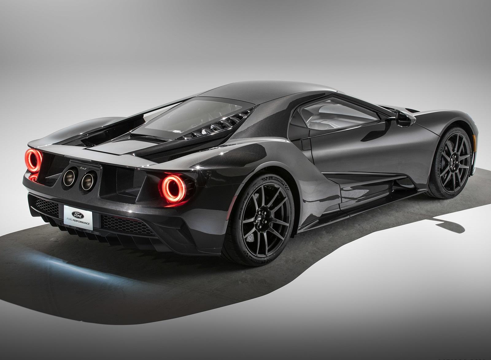2020 Ford GT Liquid Carbon Rear Three-Quarter Wallpapers (5)