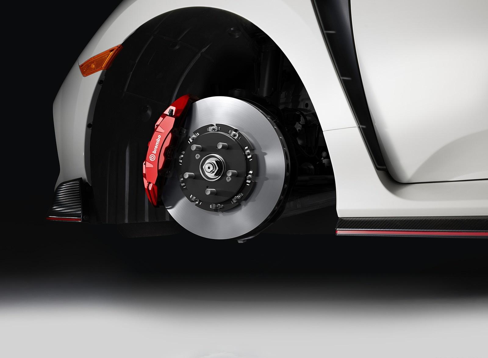 2020 Honda Civic Type R Brakes Wallpapers (10)