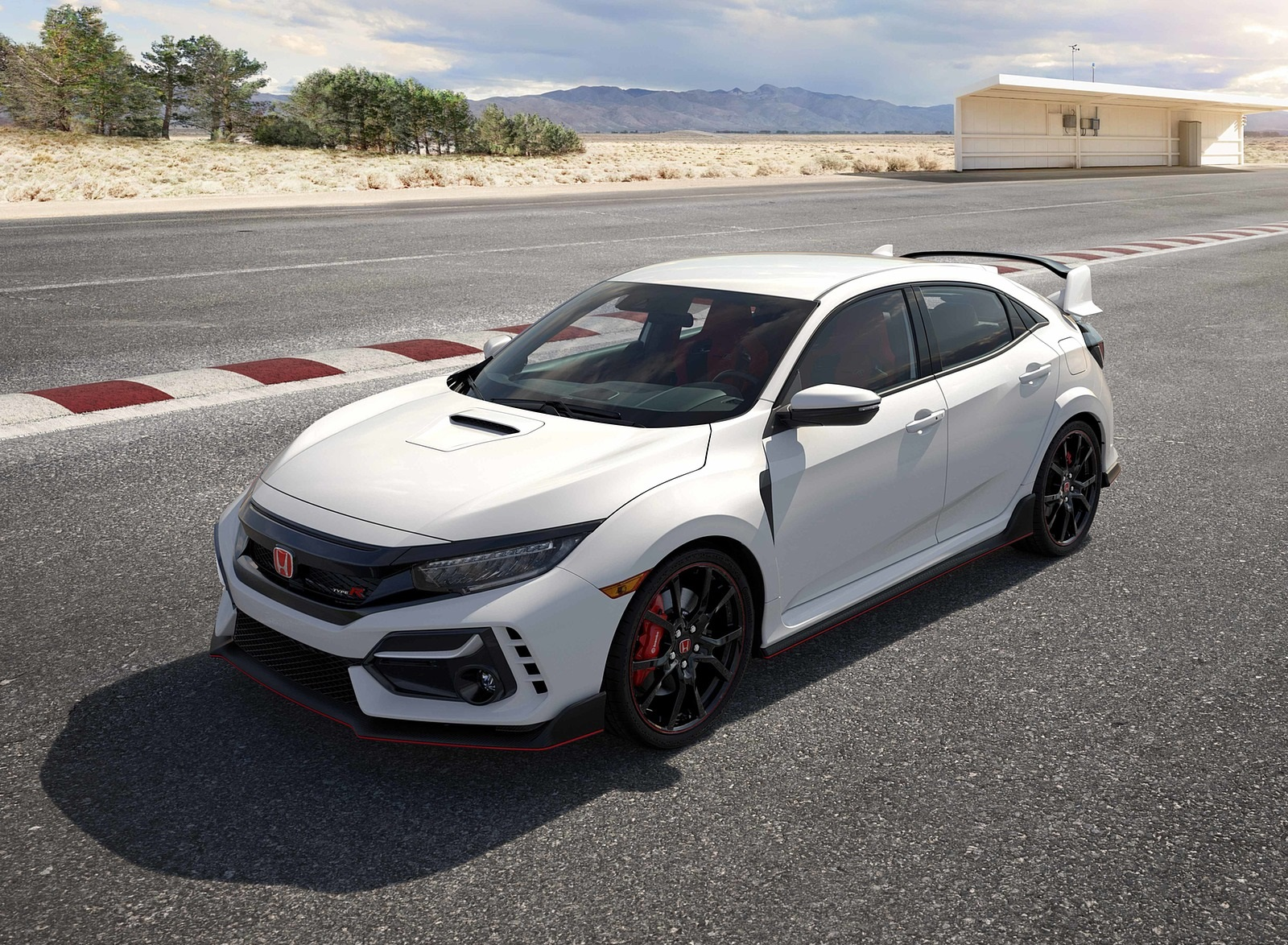 2020 Honda Civic Type R Front Three-Quarter Wallpapers (9)