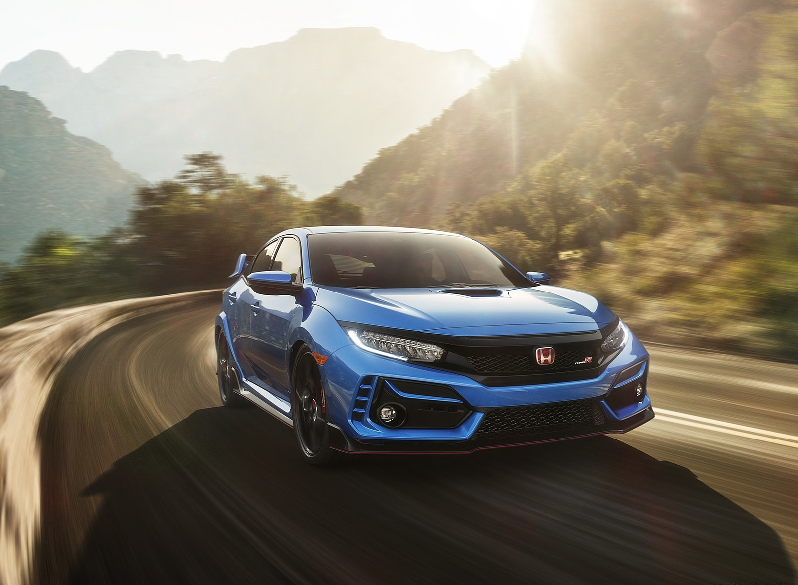 2020 Honda Civic Type R Front Three-Quarter Wallpapers (2)