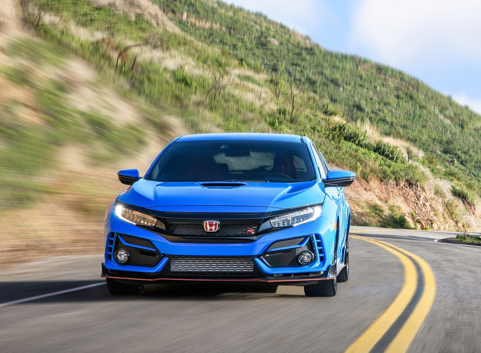 2020 Honda Civic Type R Front Wallpapers (3)
