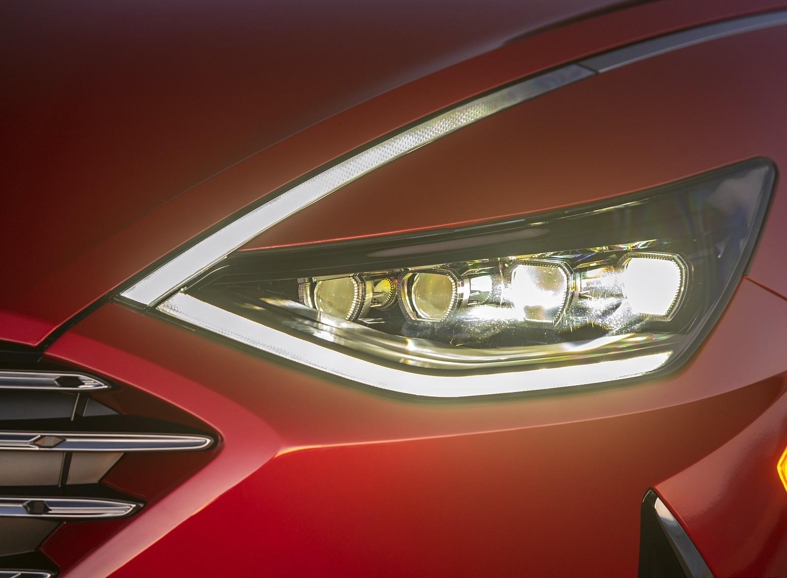 2020 Hyundai Sonata Hybrid Headlight Wallpapers (7)