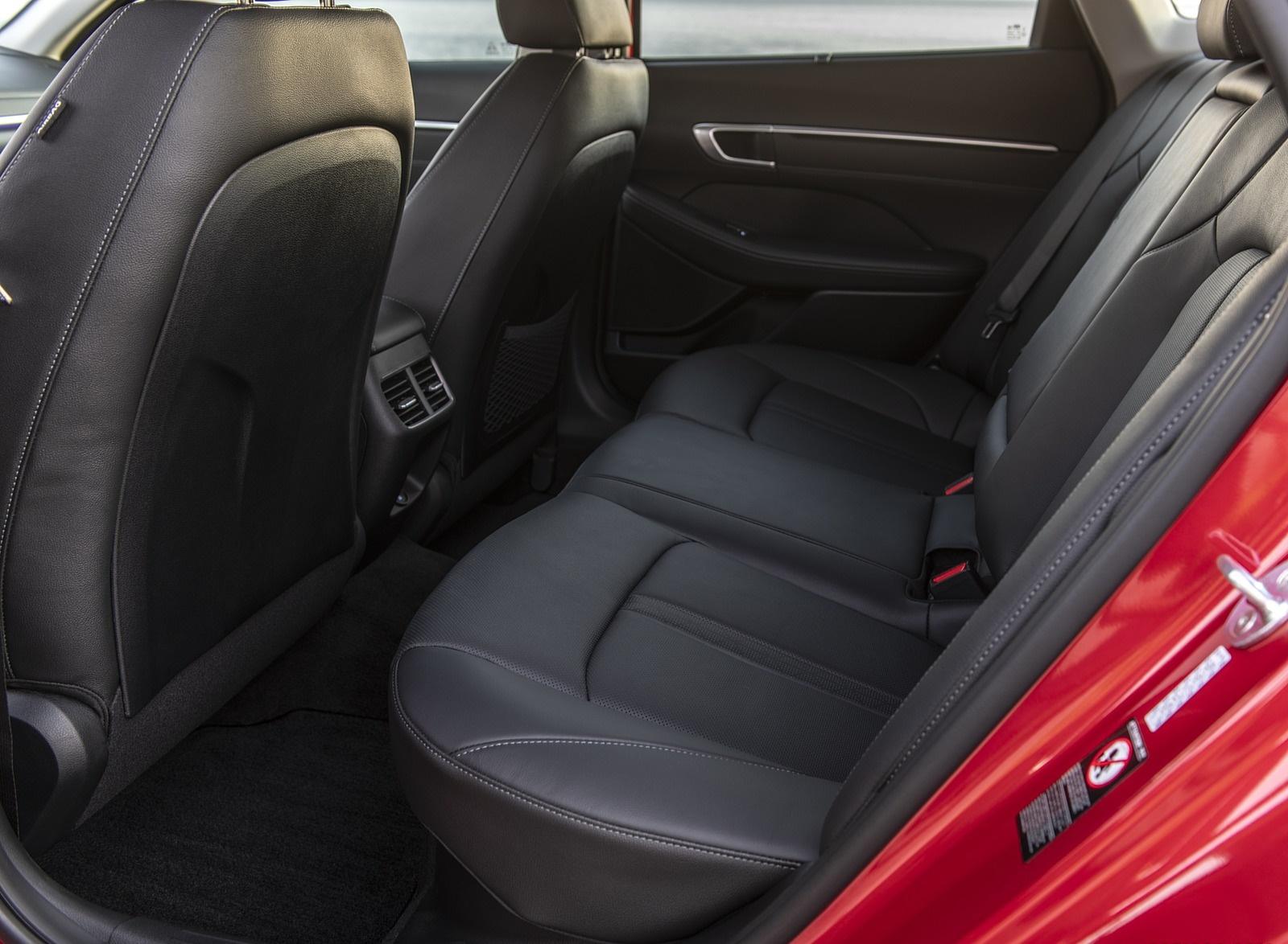 2020 Hyundai Sonata Hybrid Interior Rear Seats Wallpapers (10)