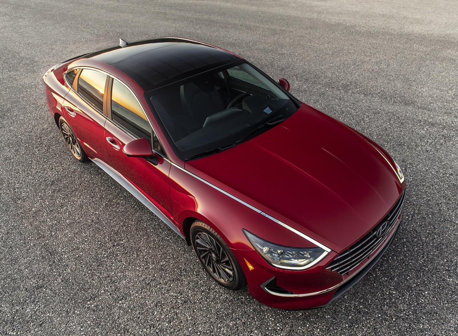 2020 Hyundai Sonata Hybrid Top Wallpapers (3)
