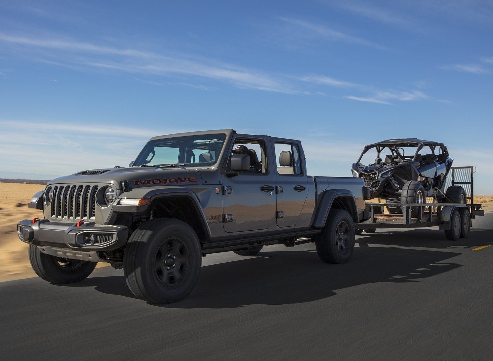 2020 Jeep Gladiator Mojave Front Three-Quarter Wallpapers (7)
