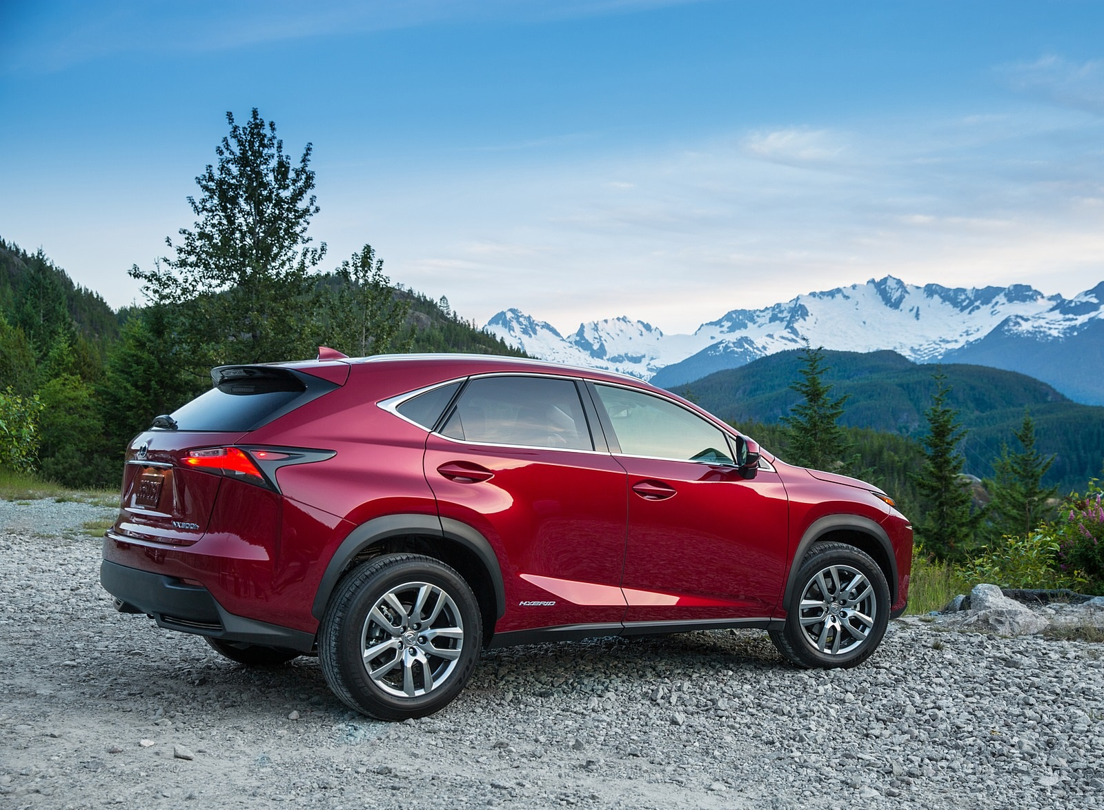 2020 Lexus NX 300h Rear Three-Quarter Wallpapers (6)