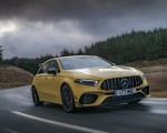 2020 Mercedes-AMG A 45 S (UK-Spec) Front Three-Quarter Wallpapers 150x120 (8)