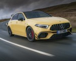 2020 Mercedes-AMG A 45 S (UK-Spec) Front Three-Quarter Wallpapers 150x120 (3)