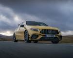 2020 Mercedes-AMG A 45 S (UK-Spec) Front Three-Quarter Wallpapers 150x120 (10)