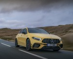 2020 Mercedes-AMG A 45 S (UK-Spec) Front Three-Quarter Wallpapers 150x120 (12)